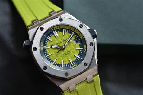 Audemars Piguet Royal Oak Diver audemars piguet royal oak offshore diver funky colors