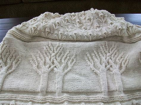 Knitting Pattern Tree Of Life Afghan
