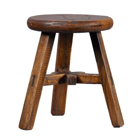 Wooden Stool by Farmhouse Kitchen Products To Get The Fixer Look
