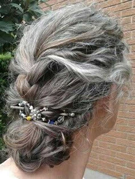 salt and pepper braid hair styles for women 30 long gray hair long hairstyles 2016 2017