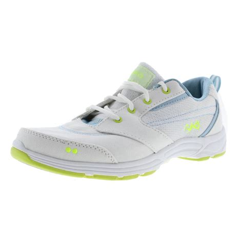 memory foam athletic shoes ryka 3971 womens canvas comfort memory foam