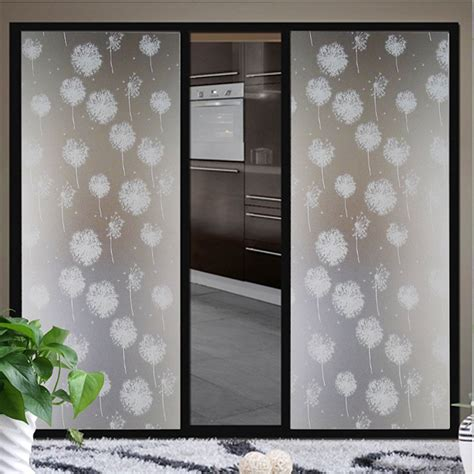 Privacy Sticker For Bathroom Window by Waterproof Glass Frosted Bathroom Window Privacy Self