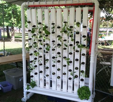 vertical pvc pipe vegetable garden 20 amazing vertical gardens gardens and garden ideas