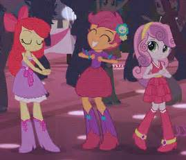 dance sweetie belle dancing party apple bloom equestria girls