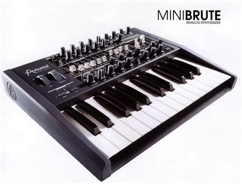 best arturia synth arturia minibrute analog synthesizer sneak preview