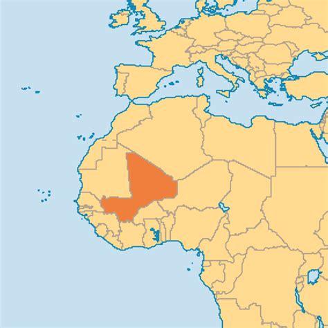 where is mali on the world map mali operation world