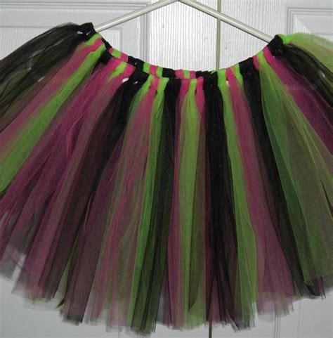Set Rok Gotik Tutu rock tutu junior size tutu tutu costume black pink lime green tutu