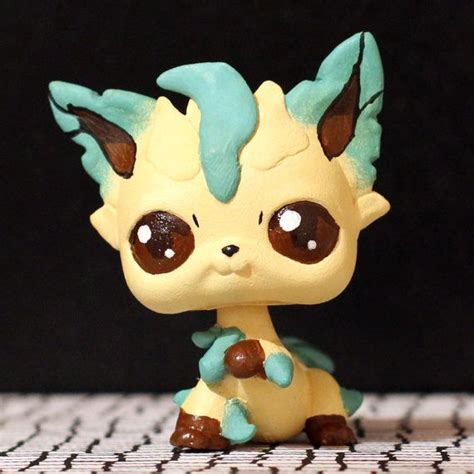 leafeon pokemon littlest pet shop custom pet shop