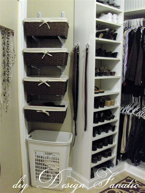 Hanging For Closets by Hanging Baskets On A Wall Or Inside A Closet To Store