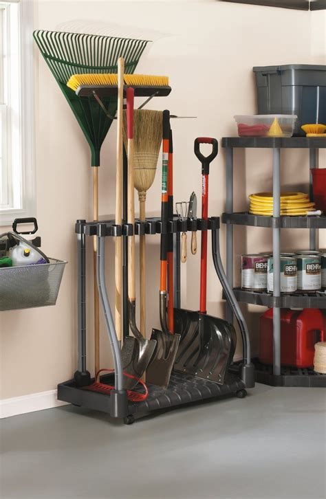 Tool Storage Rack by 16 Best Garage Organization Tools Tipsaholic