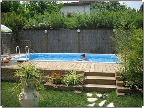 giardino semplice arredare un giardino con piscina foto design mag