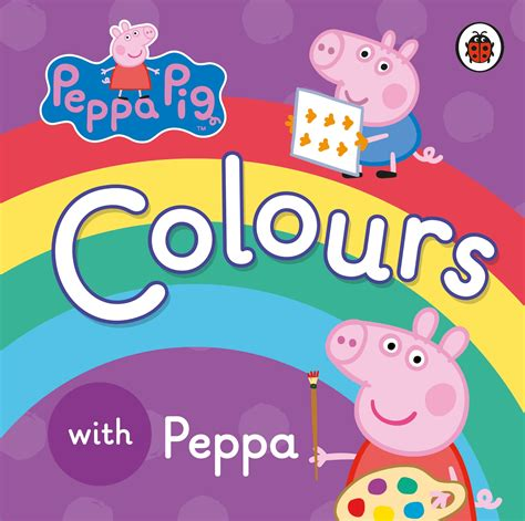 learning to peppa pig books peppa pig colours with peppa penguin books australia