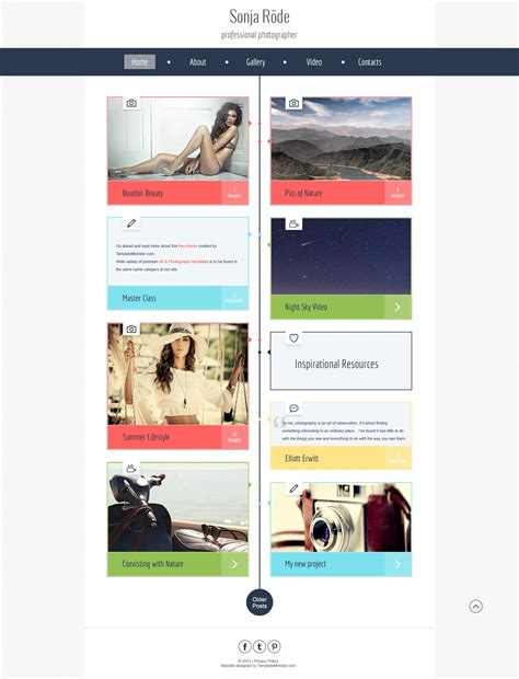 free html5 templates for books free html5 theme for photography site