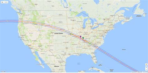 us map eclipse united states prepares for coast to coast total solar