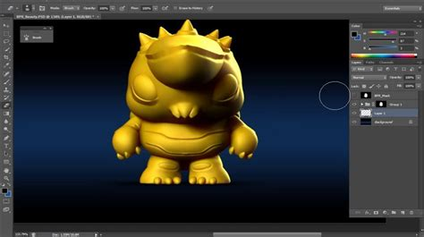 basic tutorial for zbrush basic lighting and compositing in zbrush and photoshop