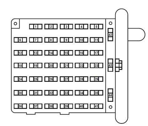 2006 ford e350 fuse panel diagram ford e series e 150 2006 fuse box diagram auto genius