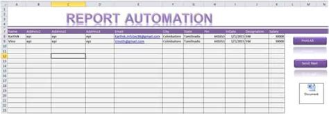 Spreadsheet Automation by Report Automation Template Using Excel Macro