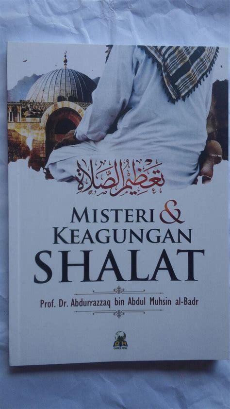 buku misteri dan keagungan shalat