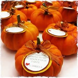Pumpkin Favors by 1000 Ideas About Birthday On