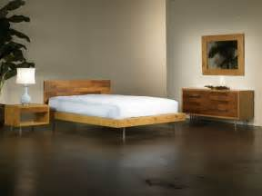 Bed Frame Rolls On Wood Floor Everglades Platform Bed