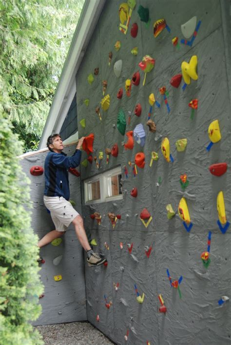 backyard bouldering wall 25 best ideas about climbing wall on pinterest climbing