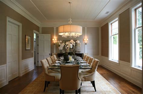 gold wallpaper dining room dining room wainscoting transitional dining room