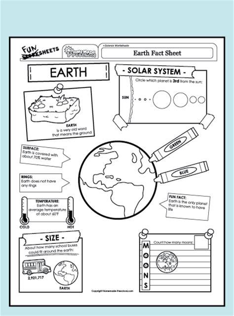 Earth Science Worksheets by 18 Senses Worksheet For Kindergarten Scientific
