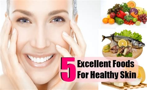 5 top foods for healthy skin lighten your skin naturally