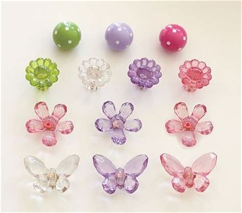 Flower Knobs For Dressers by Acrylic Drawer Pulls For Dresser Butterfly And Flower Nursery Drawer Pulls