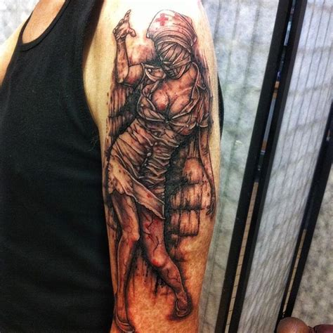 silent hill tattoo 11 best silent hill images on