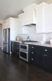 Navy Kitchen Cabinets A Moment Navy And White Kitchen Cabinets