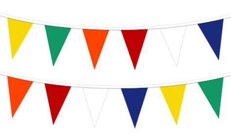 Banner Segitiga Polkadot Warna Warni multicoloured plastic pennant string multicoloured