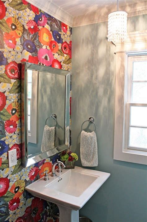 colorful wallpaper for bathroom 20 beautiful exles of what happens when you utilize