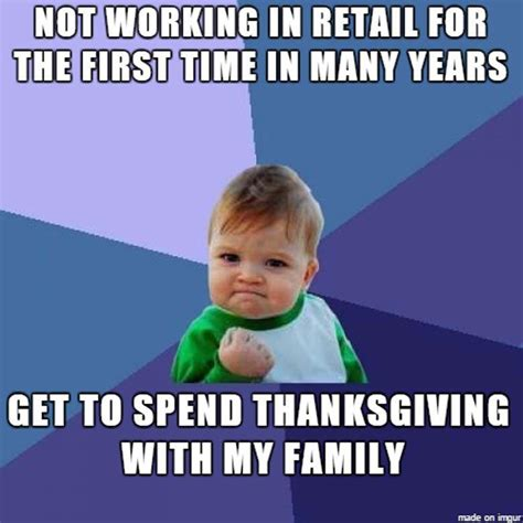 Retail Memes - shopping on thanksgiving 2016 best funny retail memes