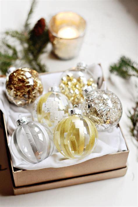 washi paper ornament 70 diy ornaments ideas
