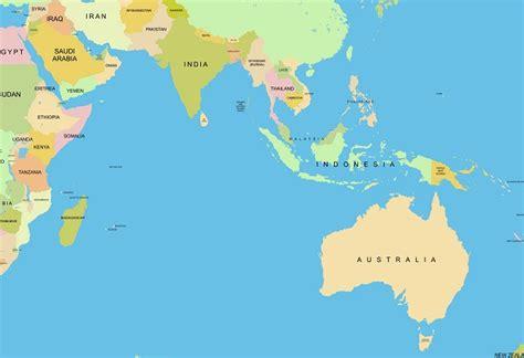 asia and australia map 11 asia and australia map vector images australia