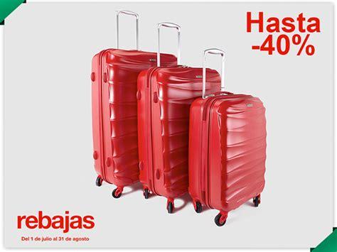 maletas de viaje en el corte ingles me gusta ahorrar maletas al 40 de descuento en el corte