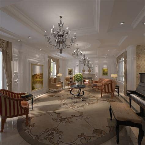 elegant life elegant living room 3d model cgtrader