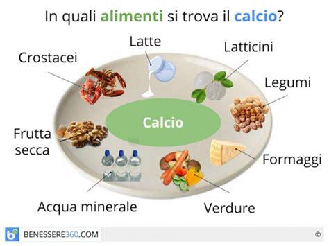 alimenti benefici calcio funzioni fabbisogno alimenti benefici ed