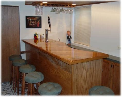 frameless home bar plans