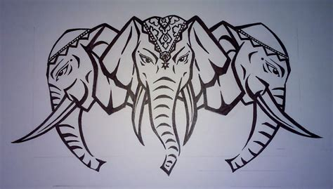 laos three headed elephant by katze1075 on deviantart