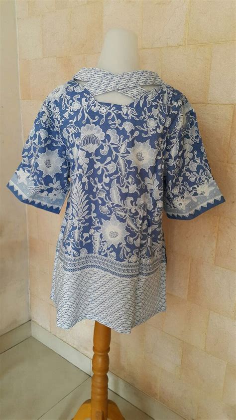 Tunic Parang Classic blouse batik sragen doby batik indonesia batik indonesia and blouses