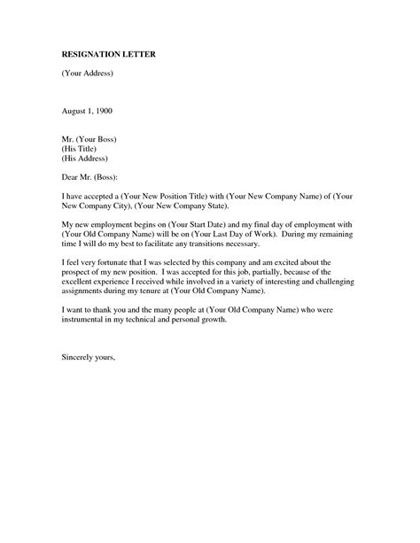 resignation letter format promotion offer letter of resignation new due to pay feeling