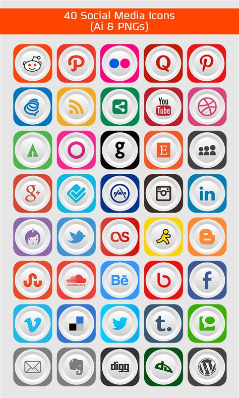 Best Kitchen Designs 2014 40 Free Social Media Icons Pngs Amp Ai File
