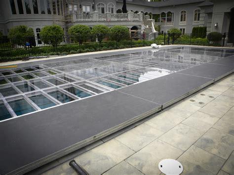 Pool Cover Floor by Floor Pool Cover Rental