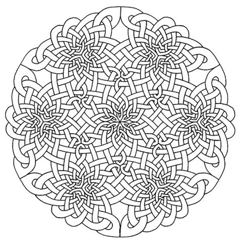 coloring pages for adults celtic free coloring pages of square mandala printable
