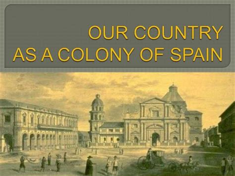 Spain In The Philippines socio political environment of the philippines during the