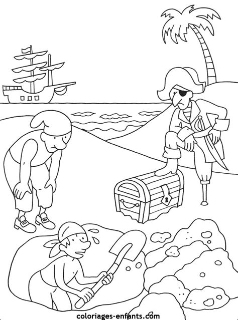 Coloriages Pirate Coloriages Pirates L L