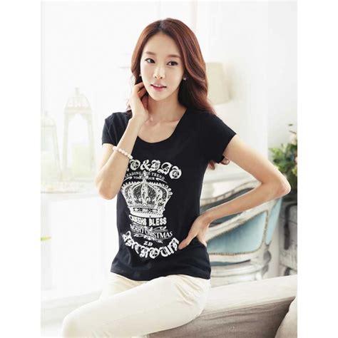 Kaos Fashion T Shirt Wanita My Brain kaos wanita import t1933 moro fashion