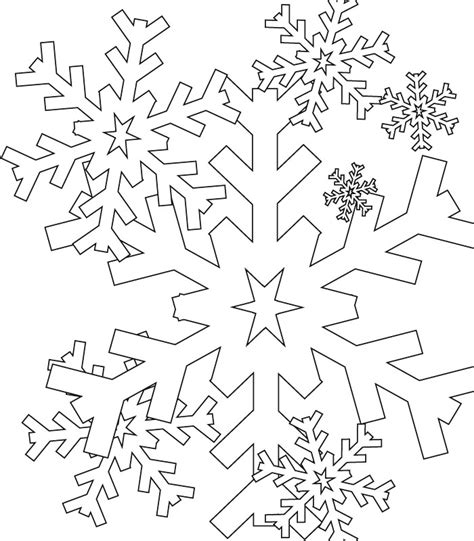 printable snowflakes coloring pages printable snowflake coloring pages az coloring pages